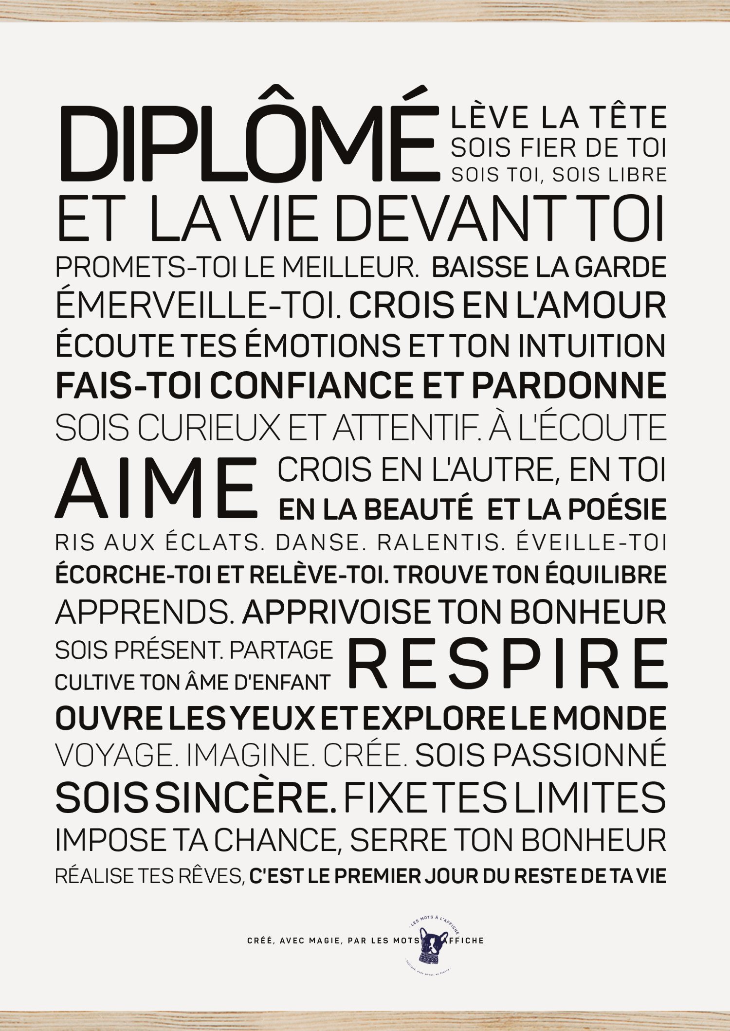 Affiche Diplome