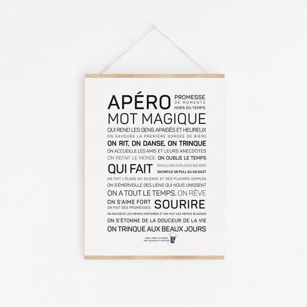Affiche Apéro